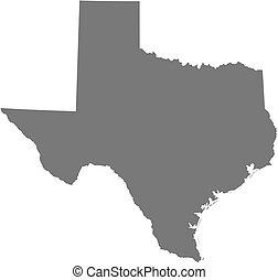 地図, (united, -, テキサス, states)