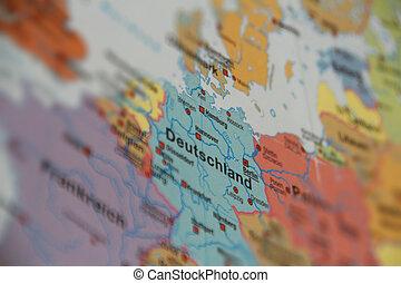 地图, 德国