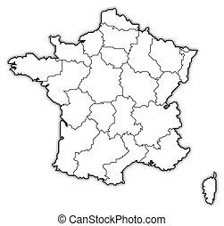 地图, 法国
