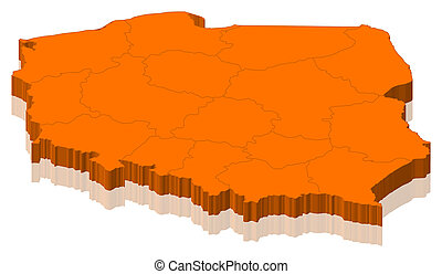 地图, 波兰