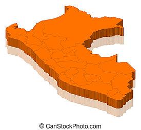 地图, 秘鲁