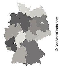 地圖, 德國