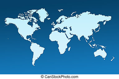 地圖, 整體, 世界