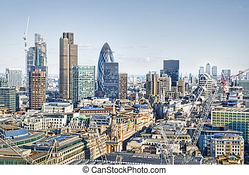 地平線, 倫敦, 城市