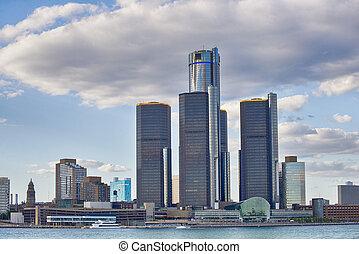地平線, ......的, 市區, 底特律
