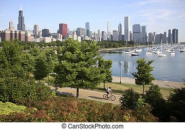 地平線, 芝加哥