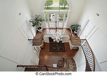 地板, 门厅, 着陆, 第二
