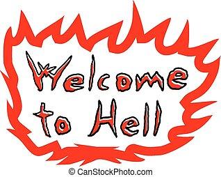 地獄, アイコン