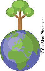 地球の 地球, セット, 004