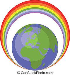 地球の 地球, セット, 005
