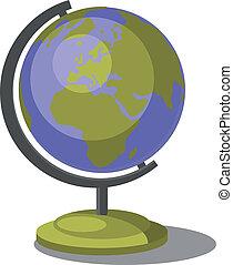 地球の 地球, セット, 007