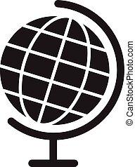 地球の 地球, ベクトル, icon., 世界