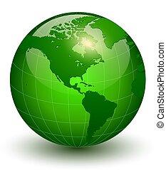 地球の 地球, 3d, アイコン