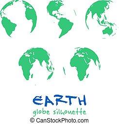 地球儀, 地球, セット