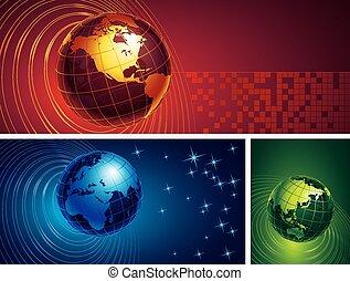 地球儀, 3