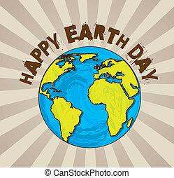 地球日, 开心