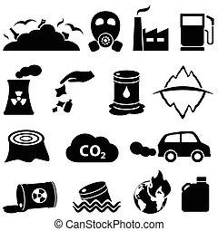地球温暖化, 汚染
