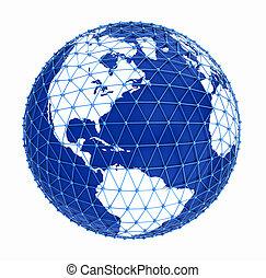 地球, ネットワーク