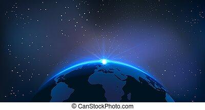地球, ベクトル