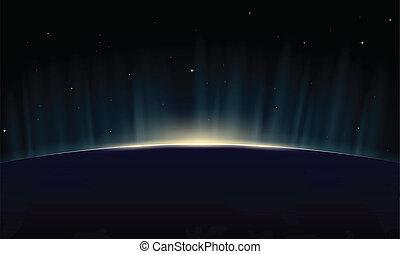 地球, 上昇
