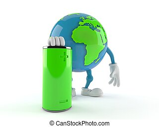 地球, 世界, 特徴, 電池