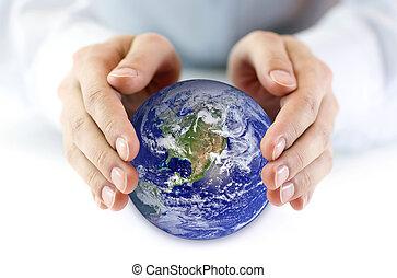 地球, 保護しなさい