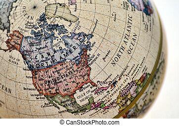 地球, 北, america.