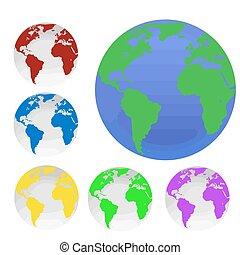 地球, 地球儀