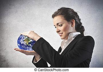 地球, 女性ビジネス