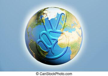 地球, 平和