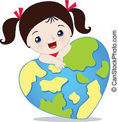 地球, 愛