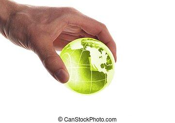 地球, 手を持つ