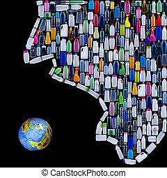 地球, 文明, 脅すこと, 人