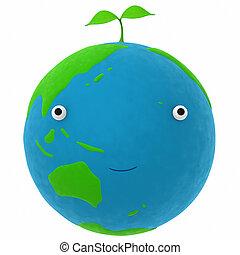地球, 植物