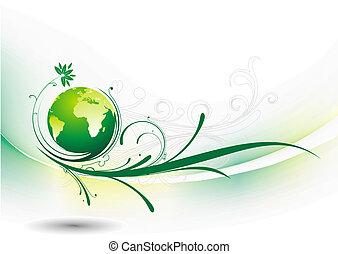 地球, 渦巻