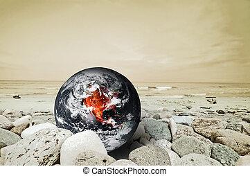地球, 災禍