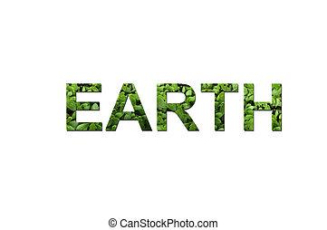 地球, 生態学的, 緑