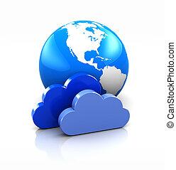 地球, 雲