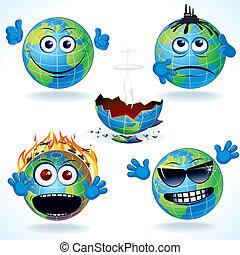 地球, #1, 漫画, アイコン