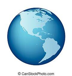地球, americas