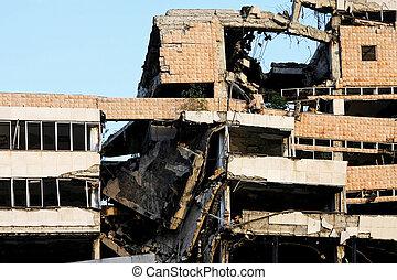 地震, 建物