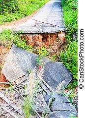 地震, 道
