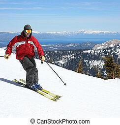 坂, スキーヤー