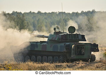 坦克, -, 軍事