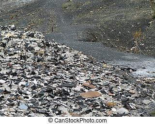 垃圾堆放處