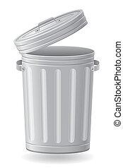 垃圾桶, 插圖