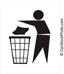 垃圾, 签署