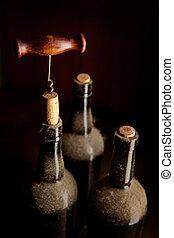 型, まだ生命, ワイン