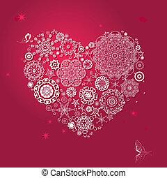 型, アラベスク, バレンタイン