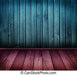 型, カラフルである, 部屋, 木製である